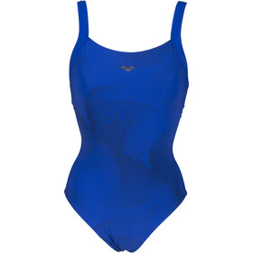 arena Ottavia Wing Back One Piece Swimsuit C-Cup Women bright blue/bright blue